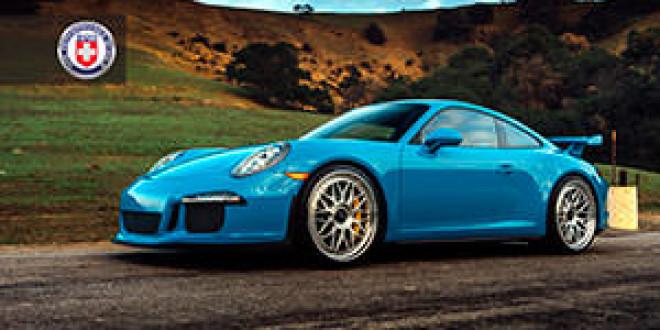 Porsche 911 GT3 на новых дисках HRE Wheels