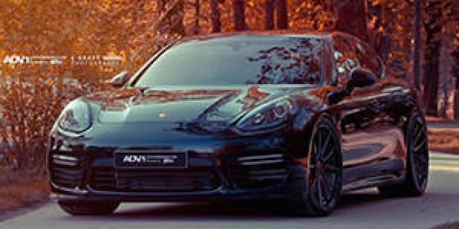 Porsche Panamera GTS позирует на новых дисках ADV.1 Wheels