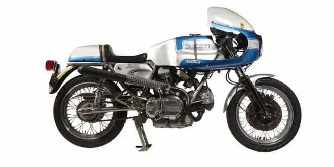 На аукцион выставлен редкий Ducati 900SS Imola