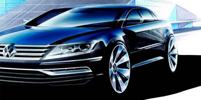 Новый Volkswagen Phaeton потягается с Mercedes S-Class