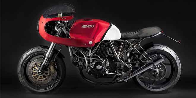 Тюнинг кафе рейсера Ducati 750SS AdRoca