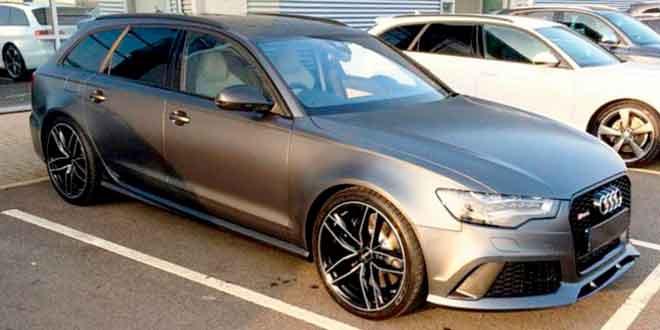 Дэвид Бекхэм продаёт разбитый универсал Audi RS6