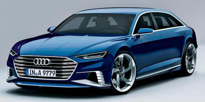 Audi везёт в Женеву универсал prologue
