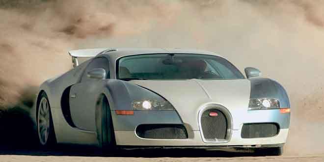 В Женеве покажут последний Bugatti Veyron