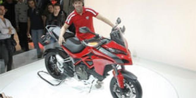 Первый Ducati Multistrada 2015 достался Карлосу Чеку