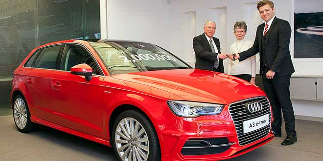 Audi продала в Британии 2-миллионный автомобиль