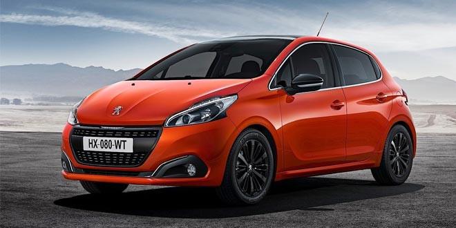 Компания Peugeot обновила хэтчбек 208