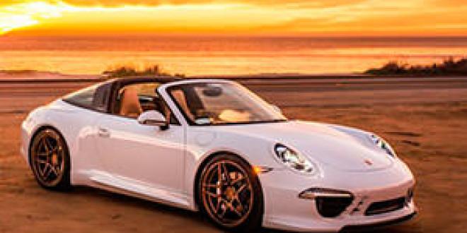 Porsche 911 Targa в легкой доводке от TAG Motorsports