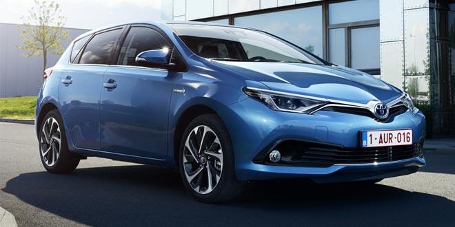 Семейство Toyota Auris обновилось