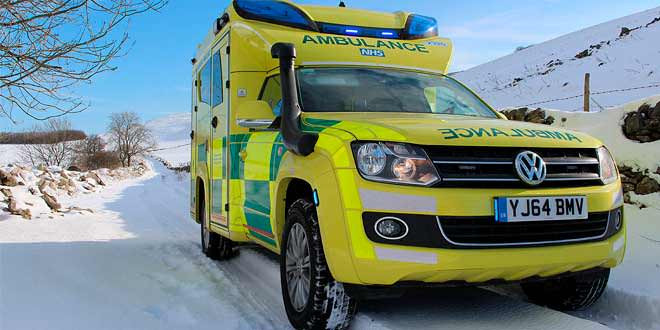 На базе Volkswagen Amarok построили машину скорой помощи