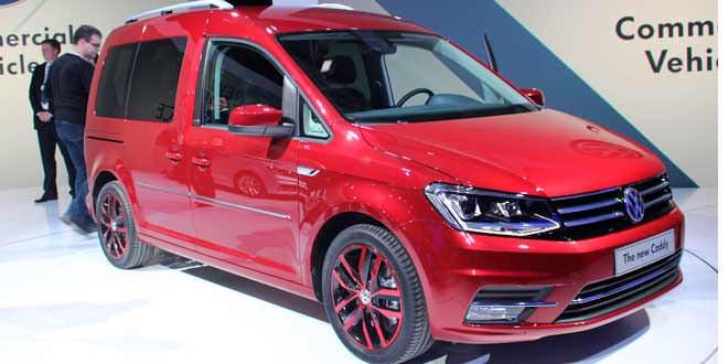 Официальная премьера Volkswagen Caddy в Познани
