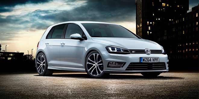 В Британии поступил в продажу VW Golf с пакетом R-Line