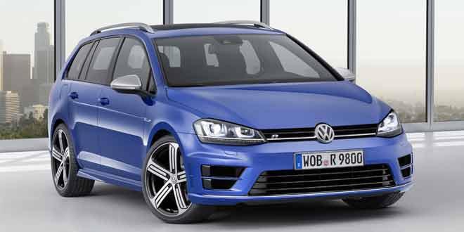 Объявлены цены на Volkswagen Golf R Variant