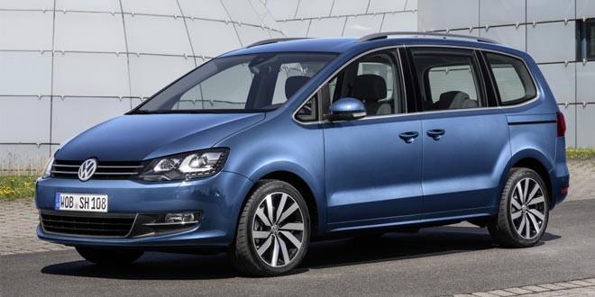 Минивэн Volkswagen Sharan пережил рестайлинг