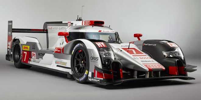 Официально рассекречен болид Audi R18 e-tron quattro