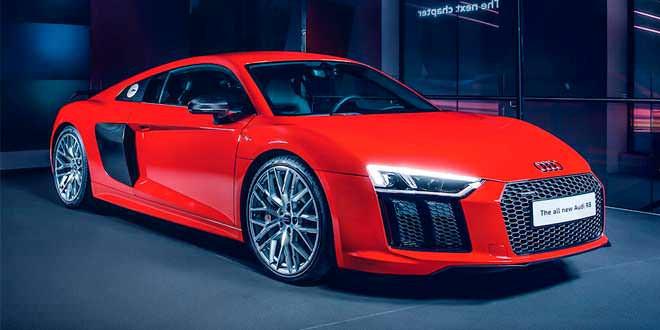 Audi определилась с ценами для нового R8 в Британии
