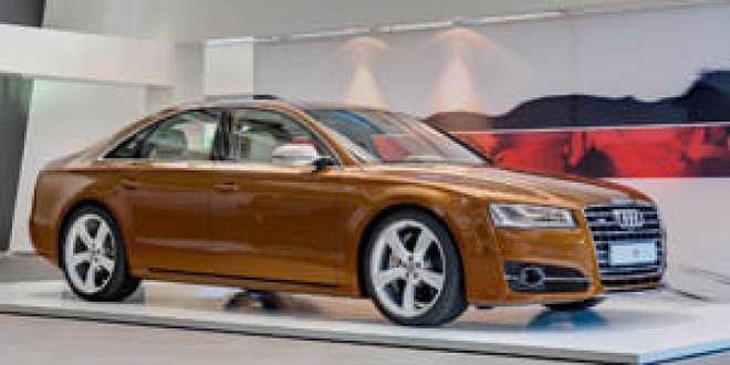 На форуме Audi в Неккарзульме показали особый S8