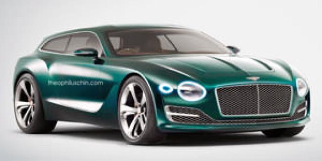 Постройте немедленно: Bentley EXP 10 Shooting Brake