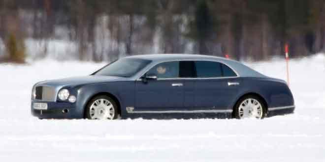 Bentley тестирует длиннобазный Mulsanne