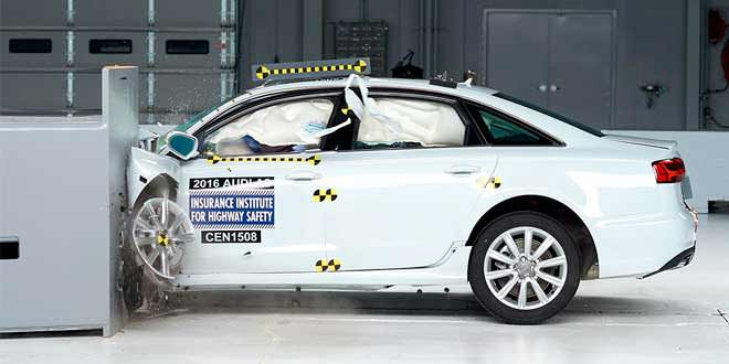 В США Audi A6 присвоили высший рейтинг безопасности