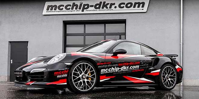 Porsche 911 Turbo S получил долгожданный Stage 3 от Mcchip-DKR