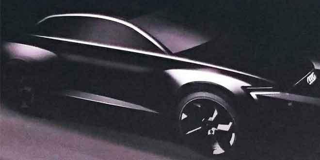 Первый официальный тизер Audi Q6