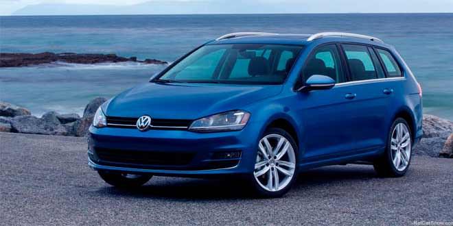VW Golf SportWagen засветился в первом большом фотосете