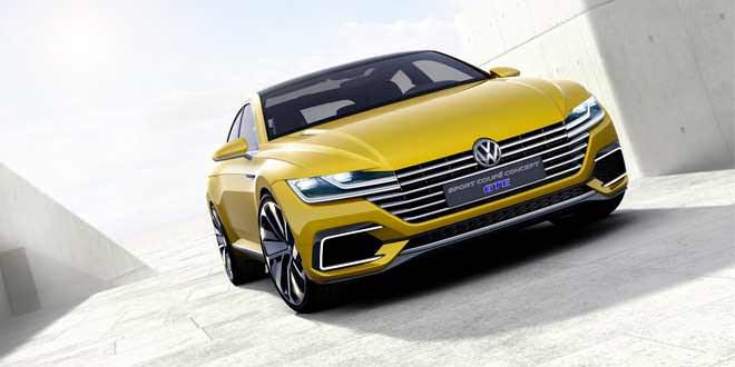 Volkswagen Sport Coupe Concept GTE прибыл в Женеву