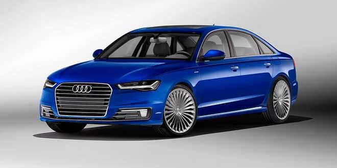 Audi A6 L e-tron мчится в Китай