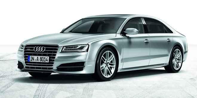 В Британии показали Audi A8 Sport