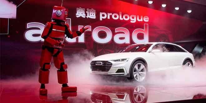 Премьера Audi prologue allroad в Шанхае