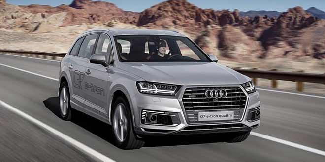 Внедорожник Audi Q7 получил ещё одну гибридную версию