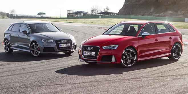 Новый фотосет Audi RS3