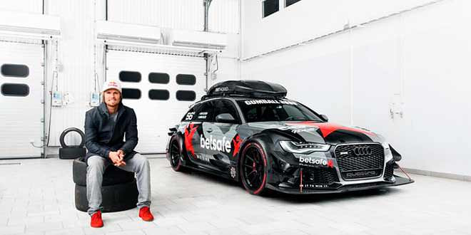 Audi RS6 Джона Олсона готова к новому сезону ралли Gumball 3000
