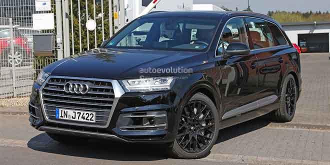 Audi SQ7 подловили на дорожных испытаниях