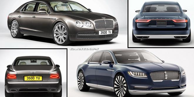 В Bentley считают дизайн концепта Lincoln Continental плагиатом