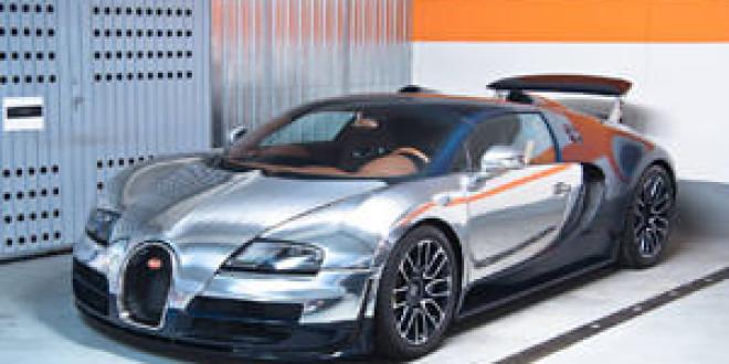 Эксклюзивный фотосет Bugatti Veyron Legend Ettore Bugatti