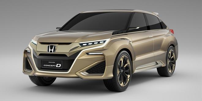 Honda Concept D — кроссовер для китайской молодежи