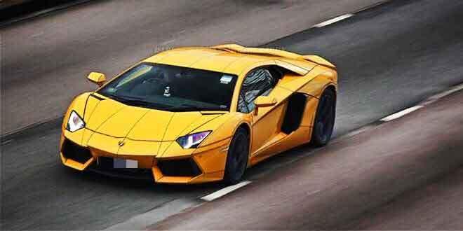 Lamborghini Aventador Tron Style от Impressive Wrap