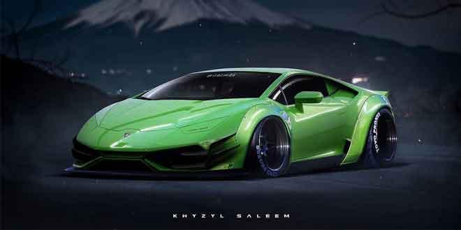 Lamborghini Huracan в виртуальном экстрим-тюнинге