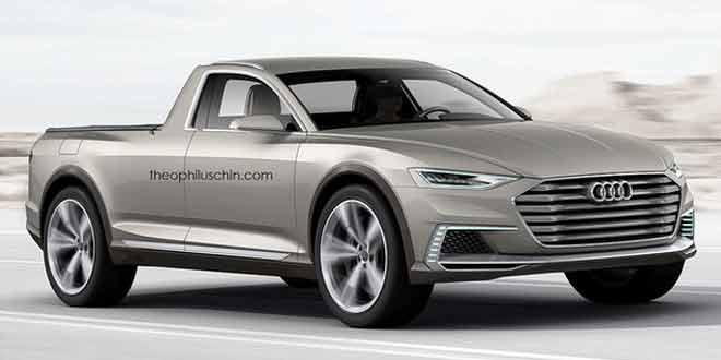 Пикап на базе Audi prologue allroad