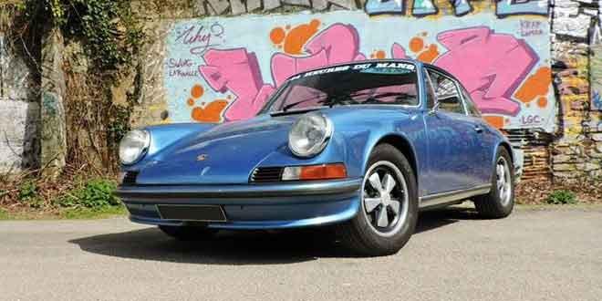 Фотосет Porsche 911 S из 70-х