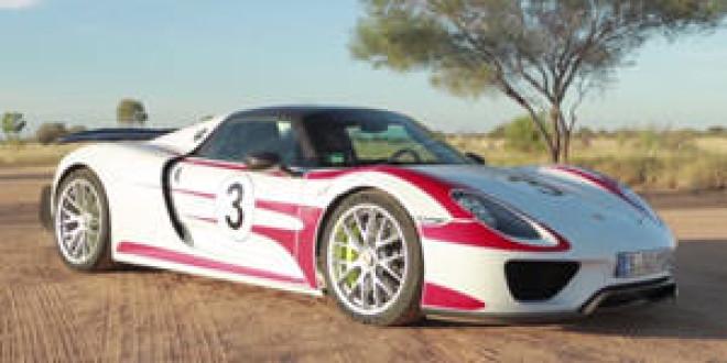 Porsche 918 Spyder разогнали на шоссе в Австралии до 350 км/ч