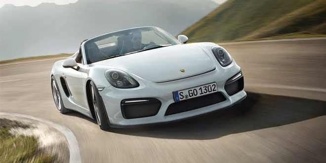 Представлен самый мощный Porsche Boxster Spyder