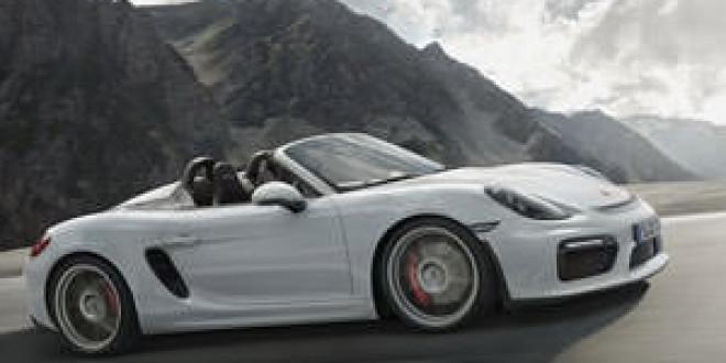 Porsche выпустит Boxster Spyder GT4