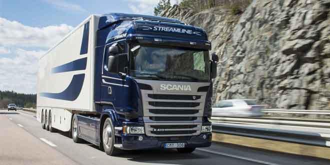 Отчет Scania за 3 месяца 2015 года