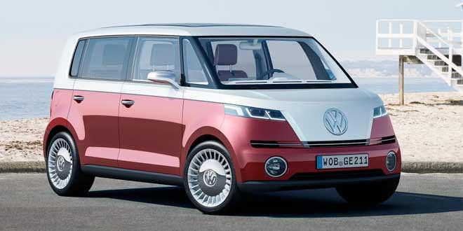 Volkswagen возродит хиппи-мобиль по мотивам концепта Bulli