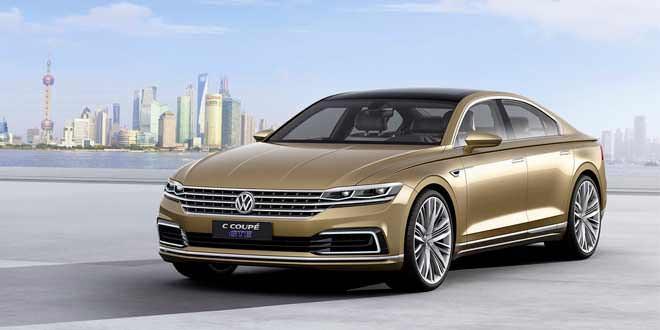 В Шанхае представлен новый концепт Volkswagen C Coupe GTE