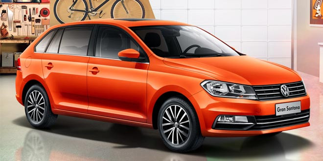 Эксклюзивно для Китая: Volkswagen Gran Santana