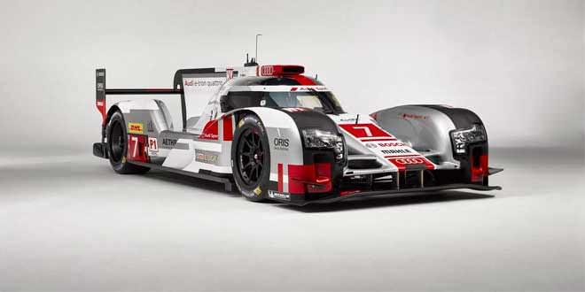 Болид Audi R18 e-tron quattro получил новый аэродинамический комплект